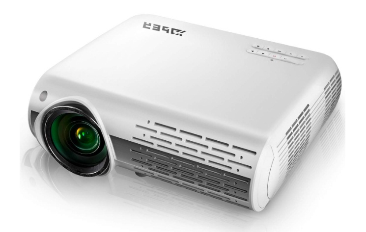 yaber native 1080p projector 5000 lumens review