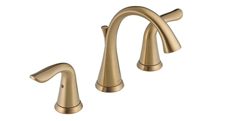 Delta Faucet Lahara 2-Handle Widespread Bathroom Faucet