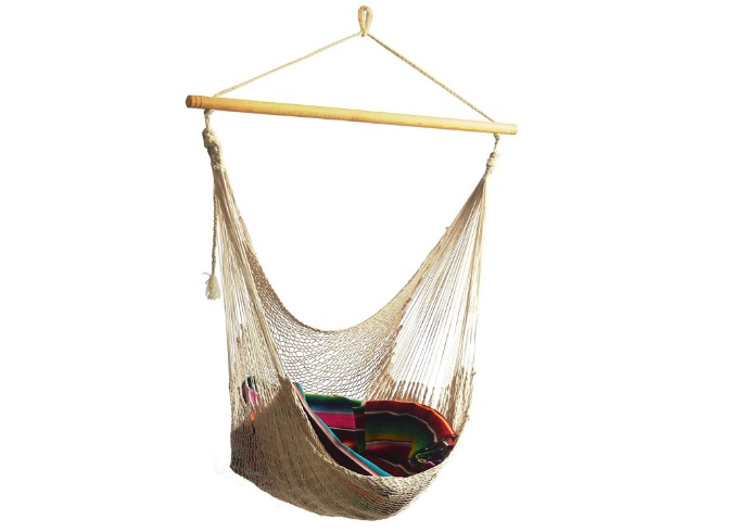 Handmade Yucatan Chair Hammock - Natural Color