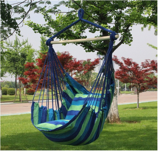 Sorbus Hanging Rope Hammock Chair Swing Seat for Any Outdoor