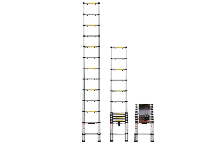 OxGord Telescoping Ladder 12.5 FT