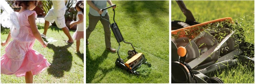 fiskars 18 inch staysharp max reel mower review