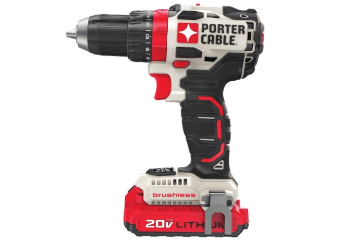 porter cable 20v max lithium ion drill & impact combo kit