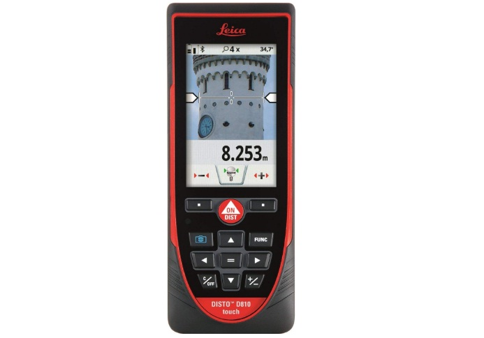 leica disto d810 touch 660ft laser distance measurer
