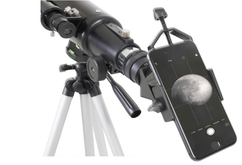 celestron 81035 basic smartphone adapter 1.25 capture your discoveries black