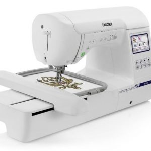 brother pe800 5x7 embroidery machine one size white