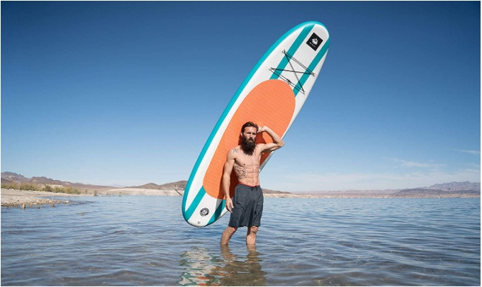 roc inflatable stand up paddle board review