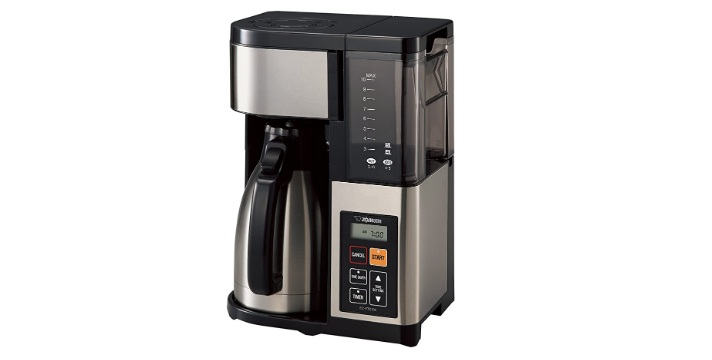 Zojirushi Coffee Maker, 10 Cup, Stainless Steel