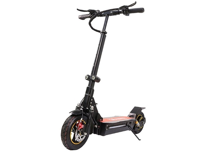 Qiewa Q1 Hummer Electric Scooter For Adults With Dual Disk