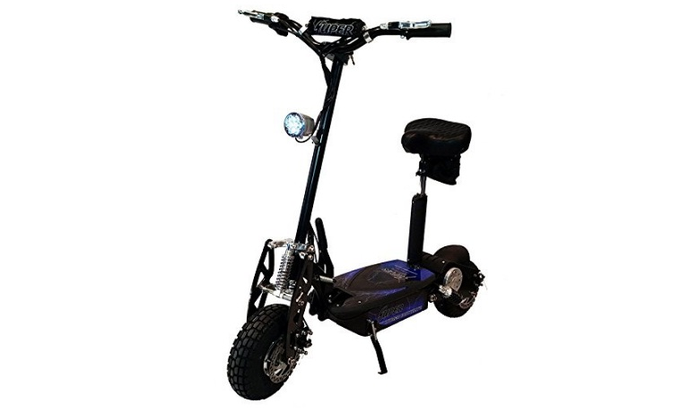 Super Cycles & Scooters, Black Super Turbo 1000watt Elite 36v Electric for Adults