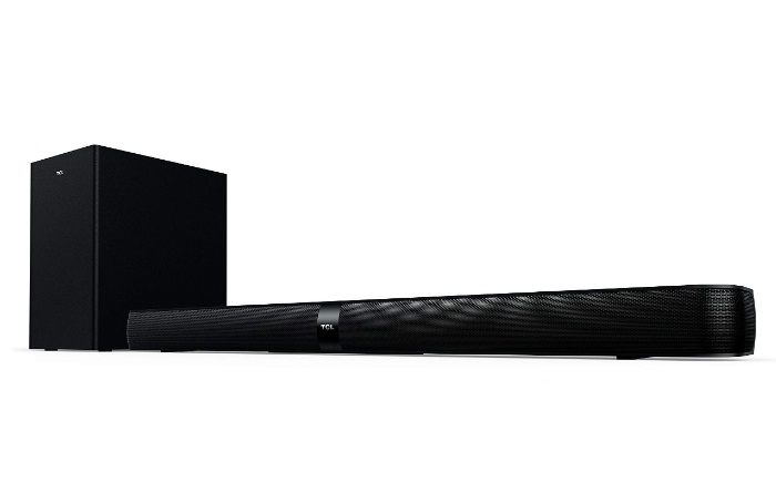 TCL Alto 7+ 2.1 Channel Home Theater Sound Bar with Wireless Subwoofer