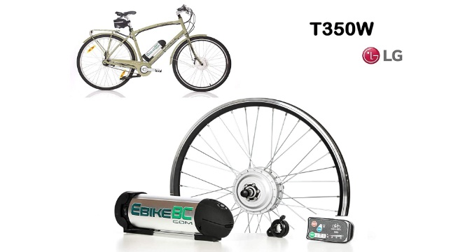 Ebike KIT 350W-500W Electric Bicycle E Bike Complete Conversion Front Hub Motor